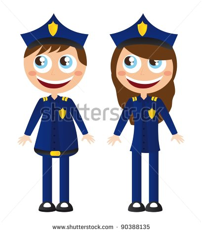 409x470 Sheriff's Officer Clip Art Cliparts