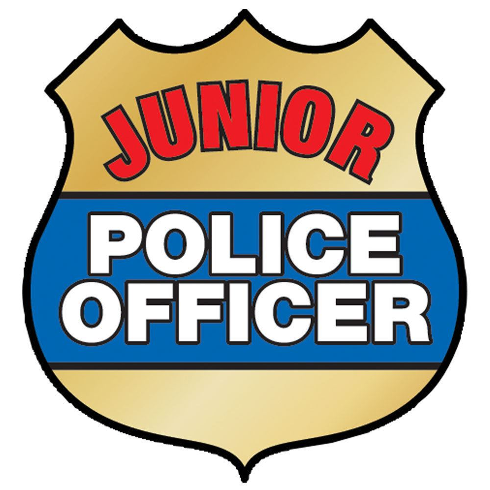 1000x1000 Junior Police Officer Temporary Tattoo Positive Promotions