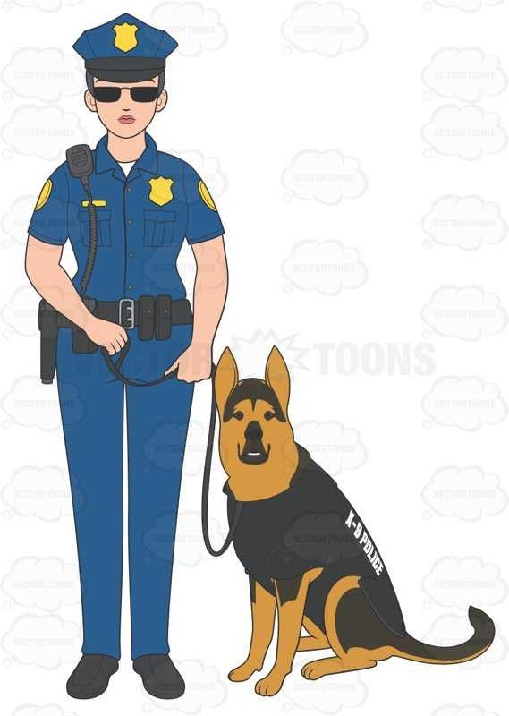 569x800 Police Officer Clipart