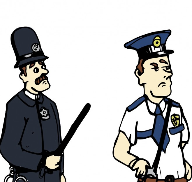 659x625 Evolution Of The Local Police Officer 1850 2014 The Gabbler