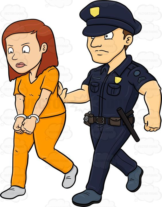 564x721 Female Police Officer Standing With Her Hands On Her Hips Female