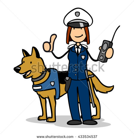 450x470 Police Officer Dog Clipart Nyc