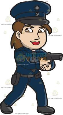 220x400 Peace Officer Clipart