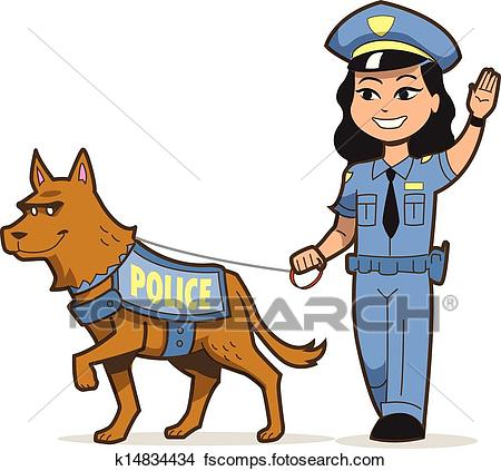 450x423 Clipart Of Happy Police Officer Eating Donut K5132283