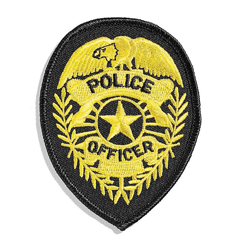 1500x1500 Hero's Pride Standard Police Shield Emblem