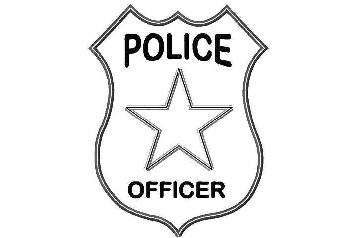720x480 Police Badge Police Officer Badge Clipart Free Images 2