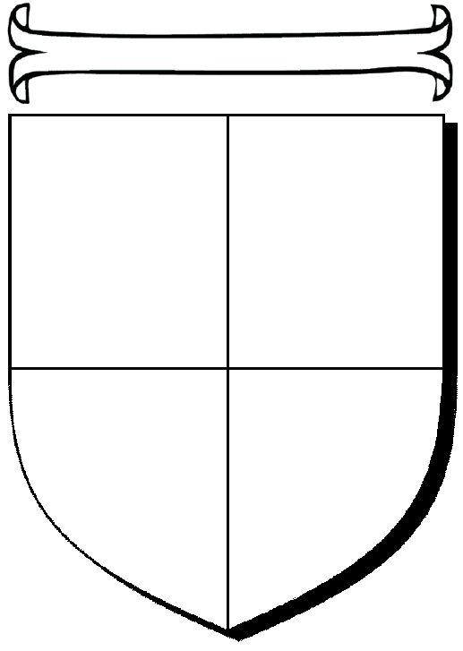 517x727 The Best Shield Template Ideas Knight Shield