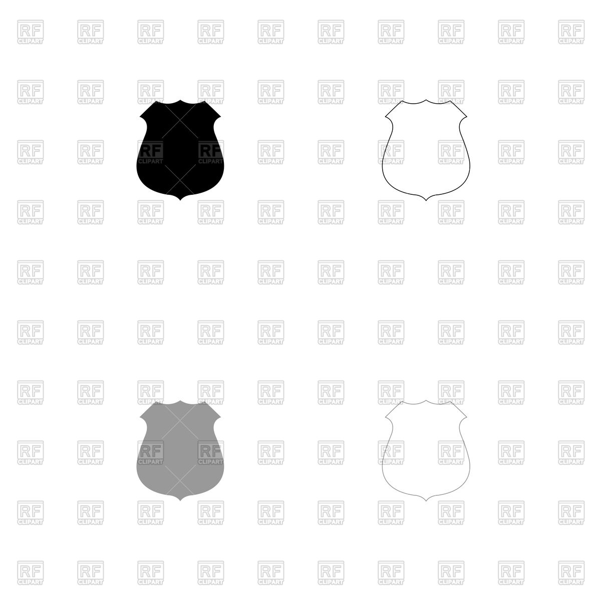 1200x1200 Blank Badge Cliparts 2566770. Police Badge Sheriff Badge Gallery