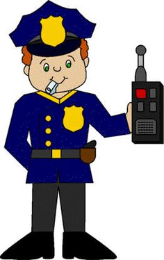 236x374 Fun Police Kids Clip Art With Police Officers, A Police Car,