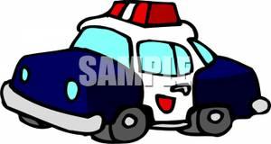 300x160 Clip Art Image Police Car.