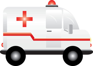 300x213 Ambulance Clipart Image