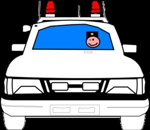 298x258 Police Car Clip Art