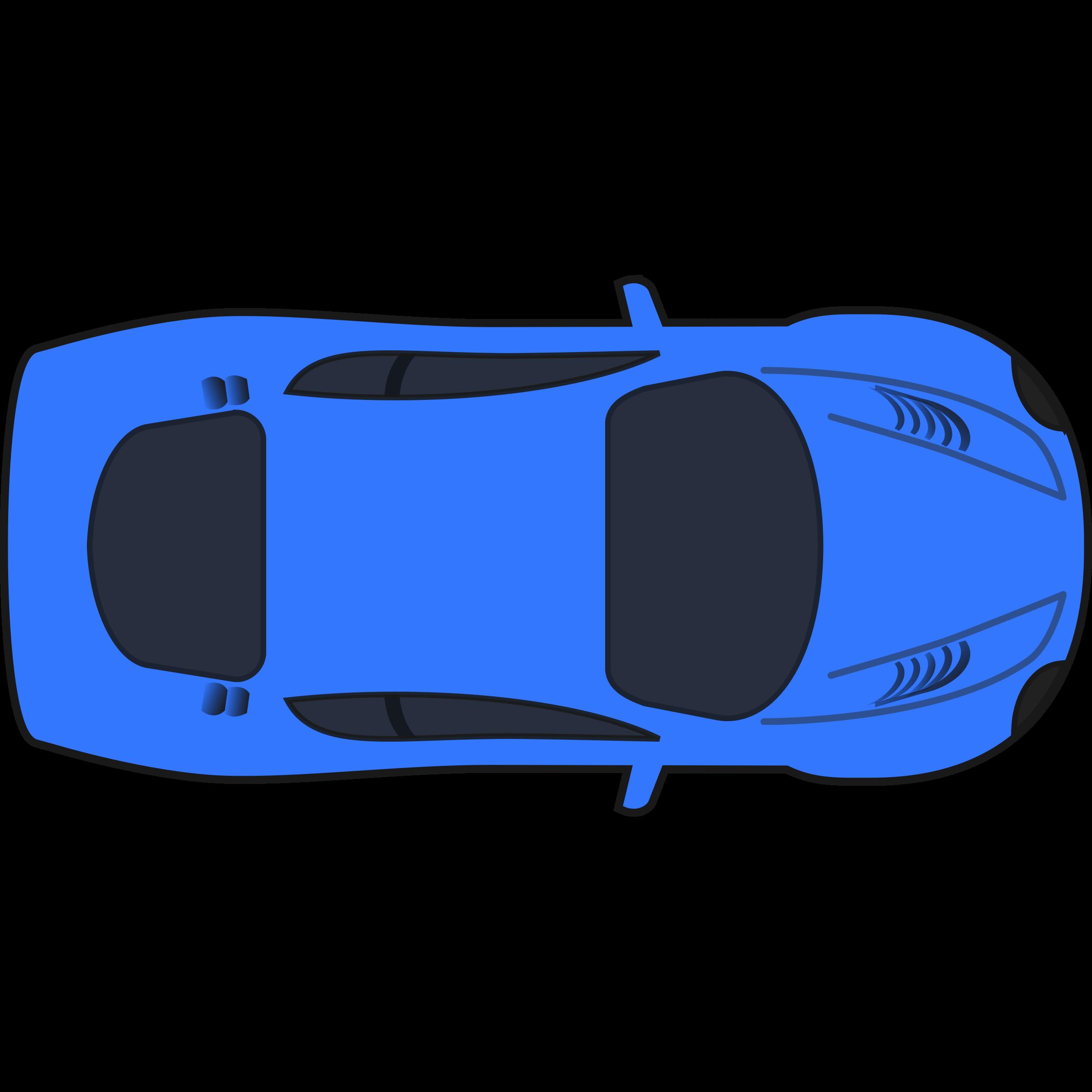 2400x2400 Best Car Clipart Top View