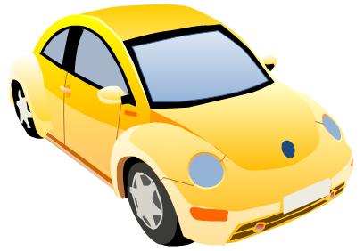 408x282 Car Vector Clipart