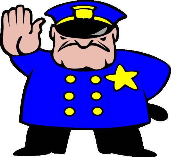 600x551 Cartoon Police Officer Clip Art Eskay