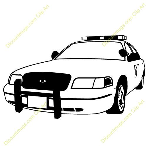 500x500 Cop Car Clip Art