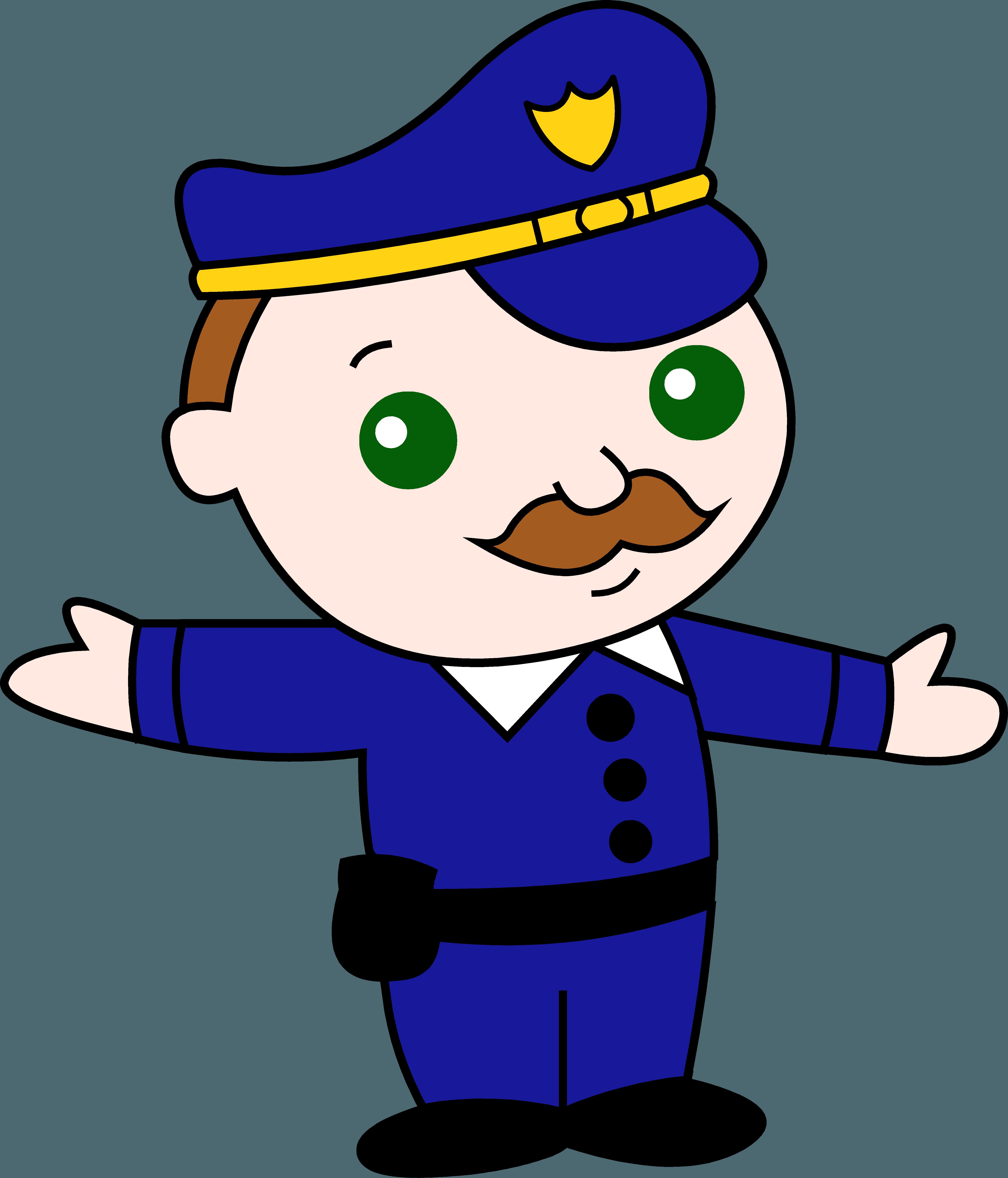 5187x6062 Little Policeman Clip Art Clipart Panda