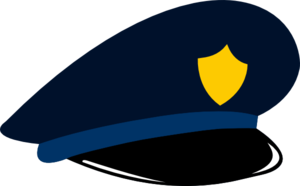 300x186 Police Hat Clip Art
