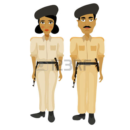 450x450 Police Clipart Indian Policeman