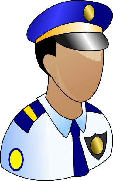 372x598 Policeman Clip Art Free Vector In Open Office Drawing Svg ( Svg