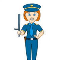 200x200 Clipart Of Police Officer