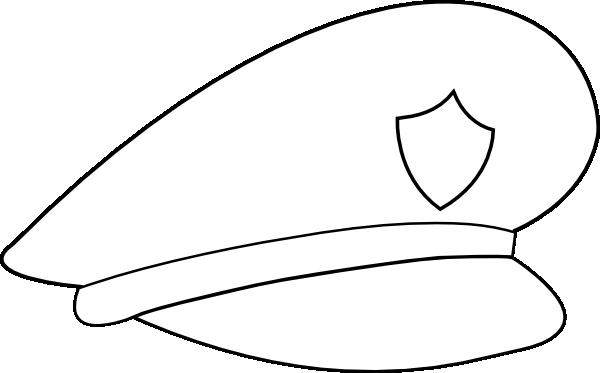 600x373 Cop Hat Clipart