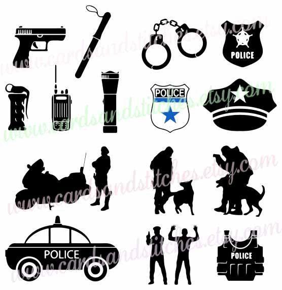 556x570 Police Svg