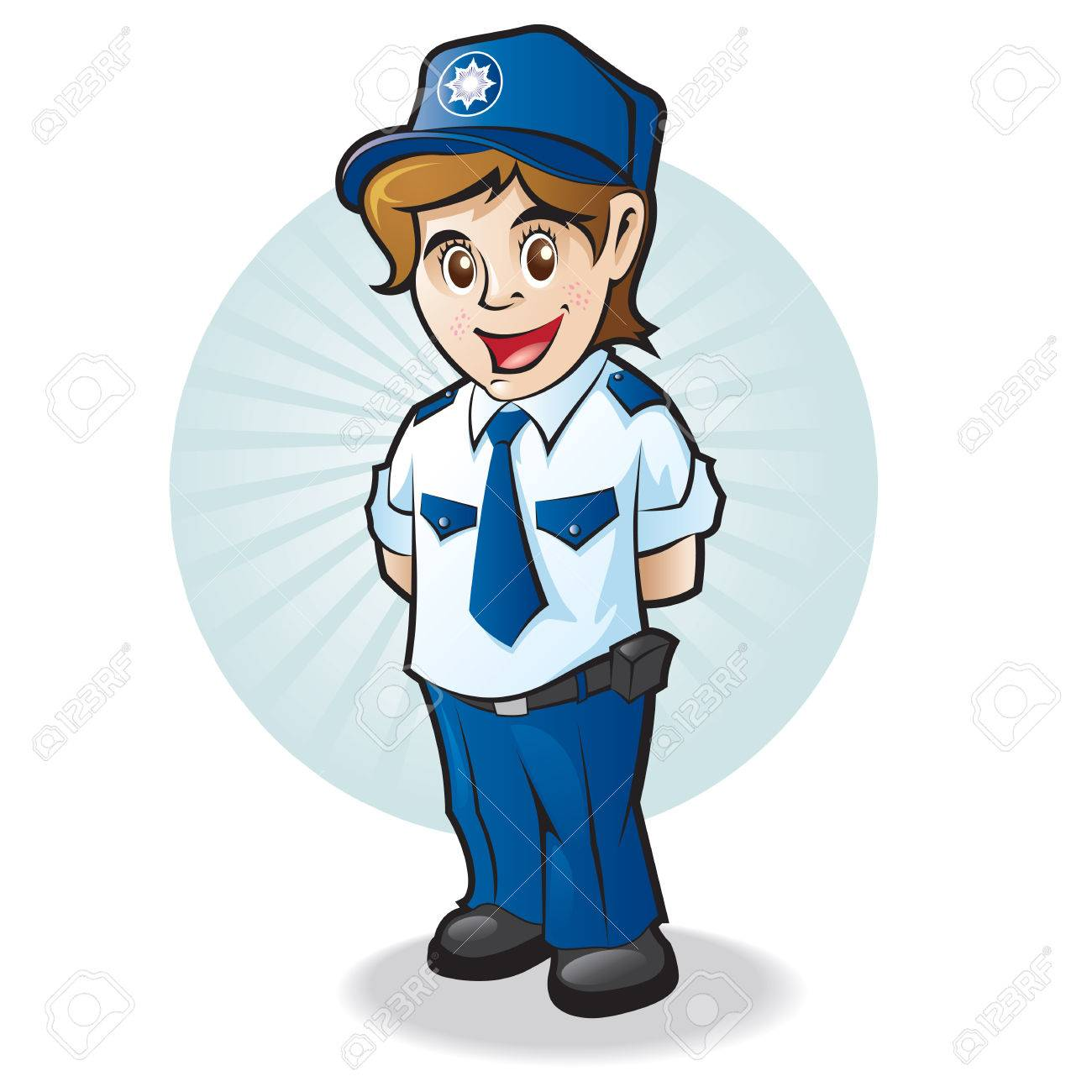1300x1300 Police Child Royalty Free Cliparts, Vectors, And Stock