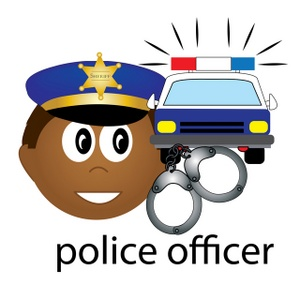 300x300 Police Clipart Image