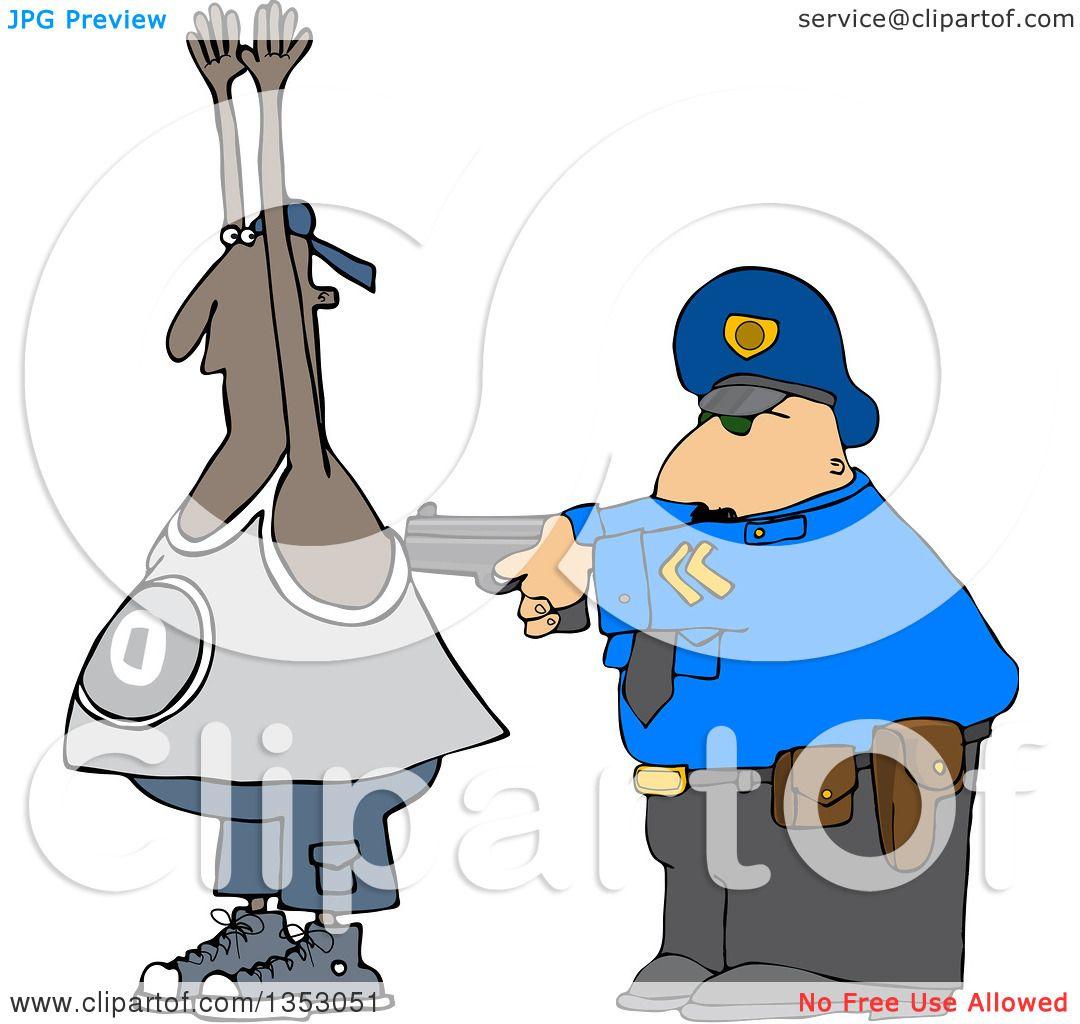 1080x1024 Alert Policeman Pointing His Pistol