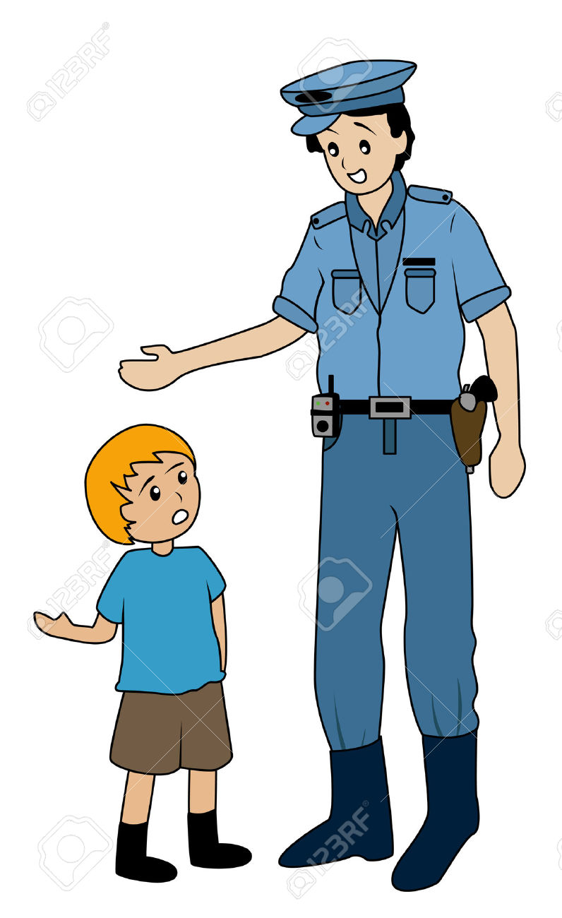 796x1300 Police Clipart For Kid