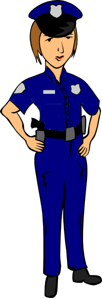 204x594 Policeman Helping Lady Free Clipart