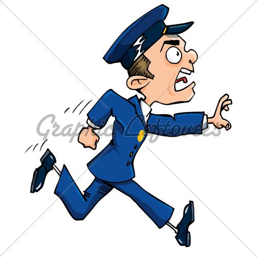 500x500 Cartoon Cop Clipart 2003281