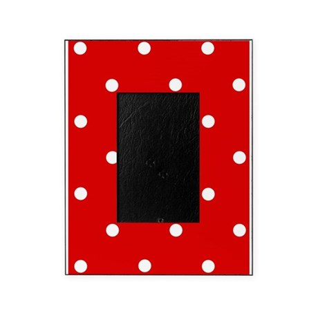 460x460 Black And White Polka Dot Picture Frames Black And White Polka