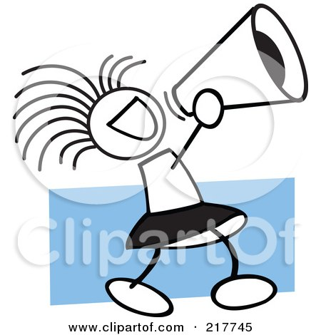 450x470 Clipart Cheerleader Pom Pom And Megaphone In Red Tones