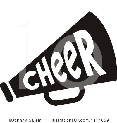 400x420 Free Clipart Cheerleading