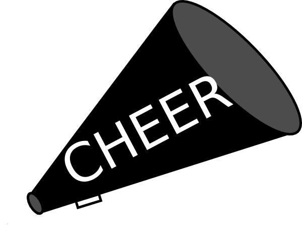 600x451 Cheer Megaphone And Poms Png Transparent Cheer Megaphone And Poms