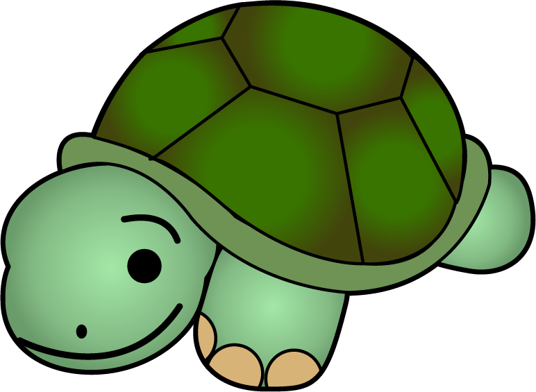 772x565 Cute Turtle Clip Art Free Clipart Images 2