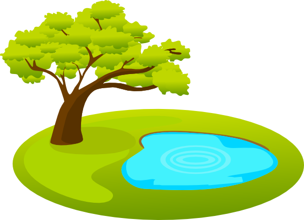 600x434 Pond Clipart Small