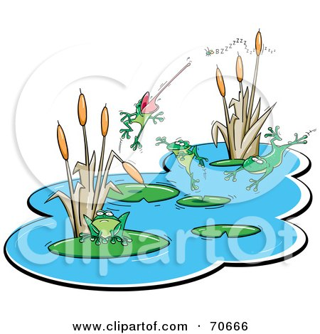 450x470 Royalty Free (Rf) Pond Clipart, Illustrations, Vector Graphics