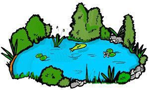 300x181 Top Pond Clip Art Free Clipart Image