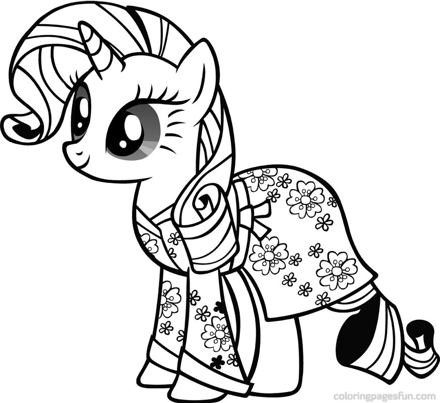 873x800 My Little Pony Free Printable Coloring Pages Coloringpagesfun