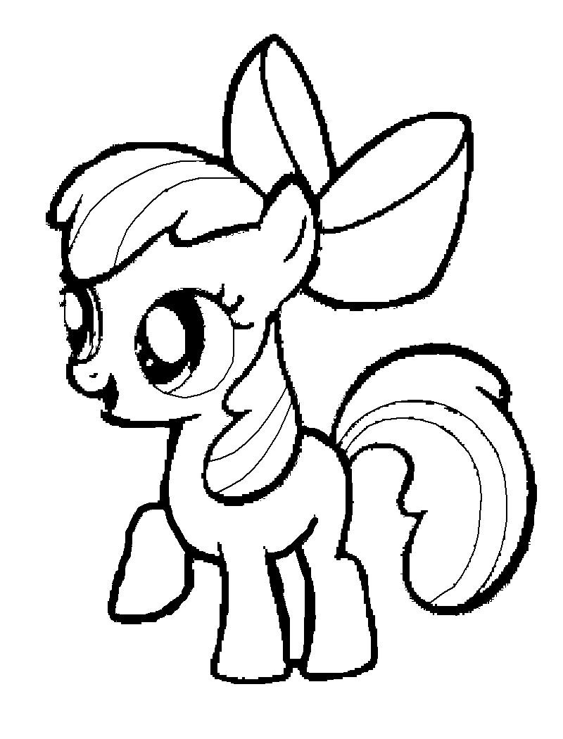 800x1050 My Little Pony Coloring Pages