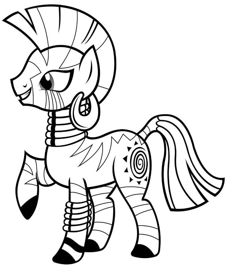Pony Coloring Pages Free download