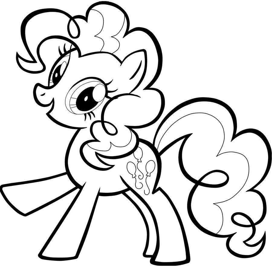 Pony Coloring Pages Free Download On Clipartmag