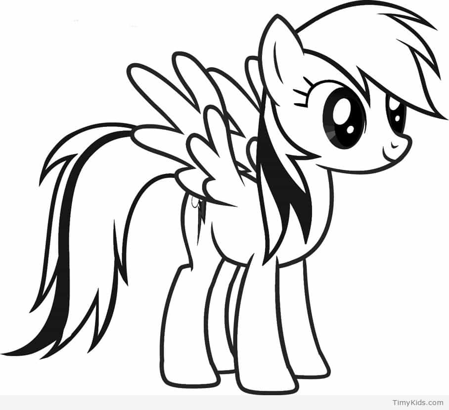 908x830 My Little Pony Coloring Pages Timykids