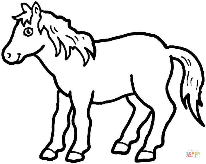 720x573 Pony Coloring Page Free Printable Coloring Pages