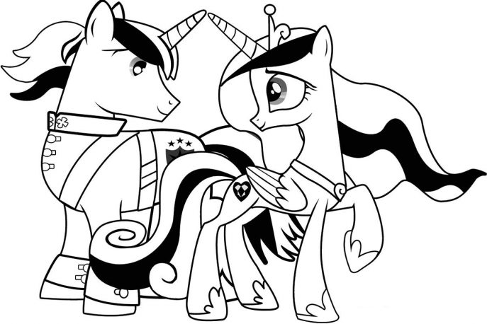 687x458 Coloring Pages My Little Pony Coloring Pages Friendship Is Magic