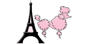 302x152 Cartoon poodle clipart free to use clip art resource image