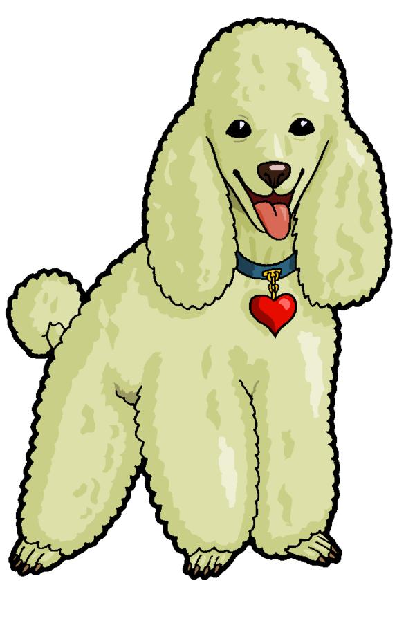 600x898 Poodle Clipart by MisterBug on DeviantArt